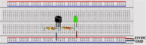 circuit breadboard definition learning to use leds and transistors microcontroller beginner kit