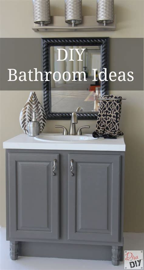 bathroom ideas diy 4 diy bathroom ideas that are quick and easy l diva of diy
