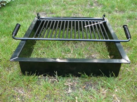 steel fire pit inserts round square old station