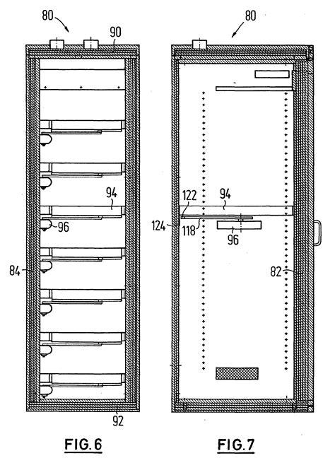 schublade schnitt patent ep1116846a1 schrank insbesondere