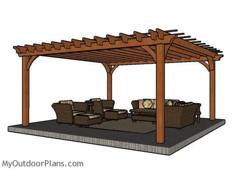 16x16 gazebo 16x16 pergola plans myoutdoorplans free woodworking