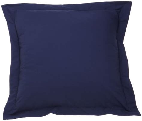 Navy Pillow Sham fresh ideas tailored poplin pillow sham navy