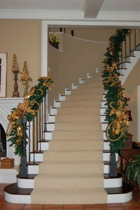 Decorating A Banister by Decorate The Stairs For 30 Beautiful Ideas