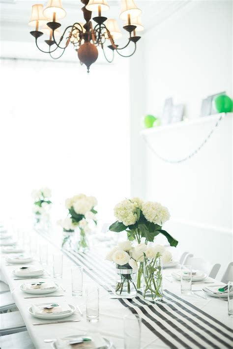 Sophisticated Baby Shower Decorations by A Graphic Black White Modern Baby Shower The Sweetest