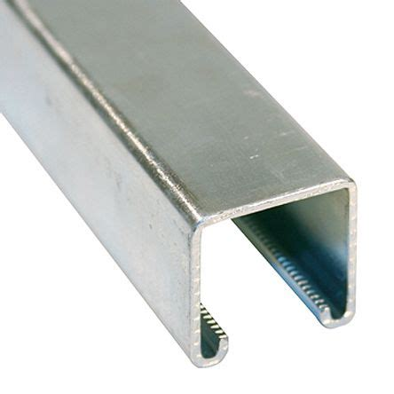 3d Floors by P1000 41 X 41mm Single Galvanised Steel Strut 3m Long