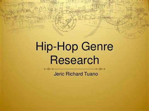 genre rap hip hop hip hop genre research