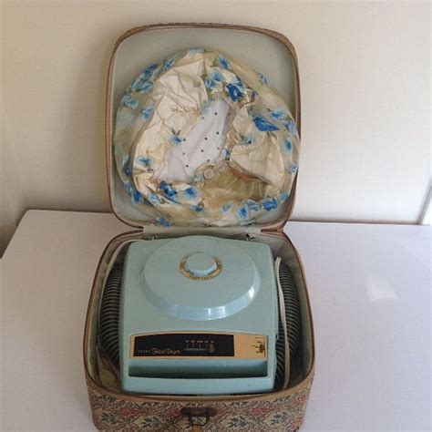 Hair Dryer Carry Bag kenmore portable hair dryer works 1950 s with carrying