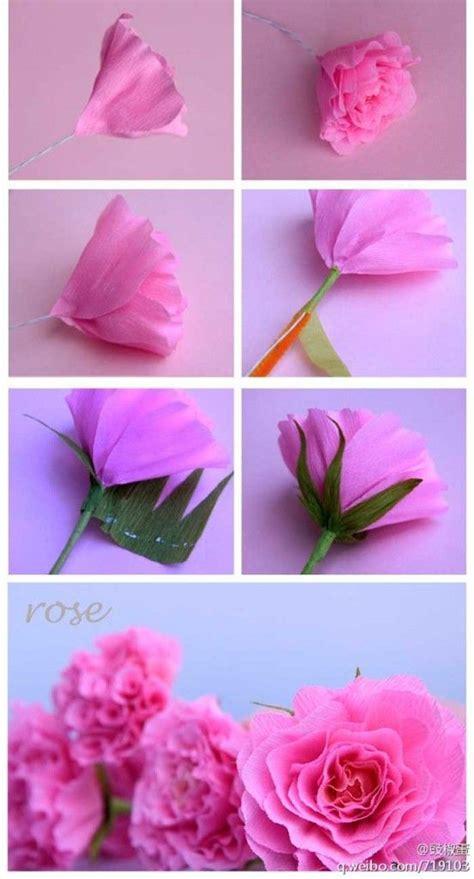 como hacer flores de papel crepe cositasconmesh 17 mejores ideas sobre flores de papel crep 233 en pinterest
