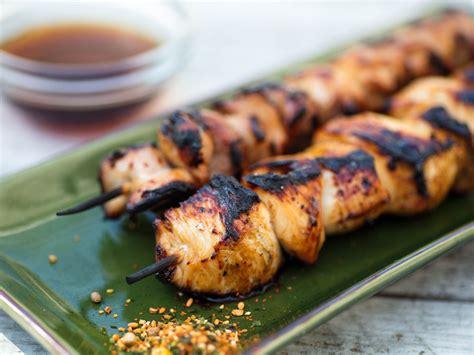 An Yukitri sweet and sour grilled chicken skewers yakitori nanbansu recipe serious eats