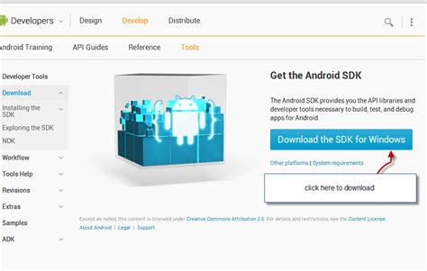 android sdk tutorial installing android sdk tools eclipse tutorial