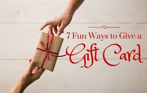 Ways To Give A Gift Card - 7 fun ways to give a gift card mom needs chocolate