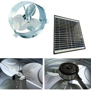 high efficiency attic fan brightwatts solar gable attic fan