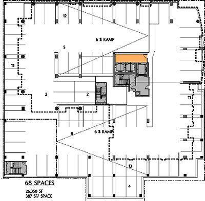 Parking Garage Plan by 17 Best Parking Garages Images On Garage