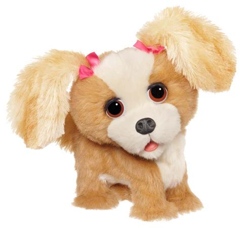 fur real pets furreal friends bouncy my happy to see me pup figure toys