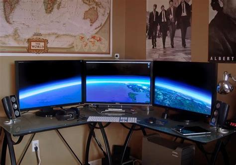 computer setups 25 best home office workstation setups pixel curse