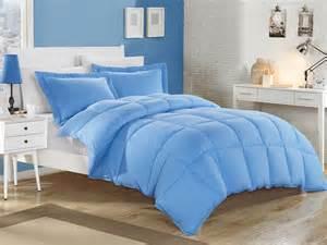 Comforter Sets Blue Blue Alternative Comforter Set