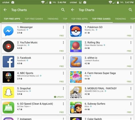 Play Store Top Paid Apps Play Store Top Charts F 252 R Apps Und Spiele Erhalten