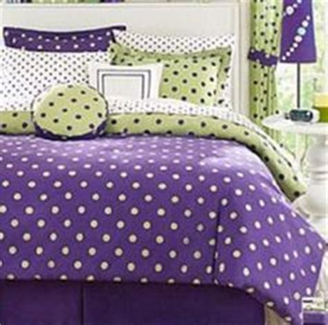 purple and lime green bedroom purple and green room on ruffle bedding