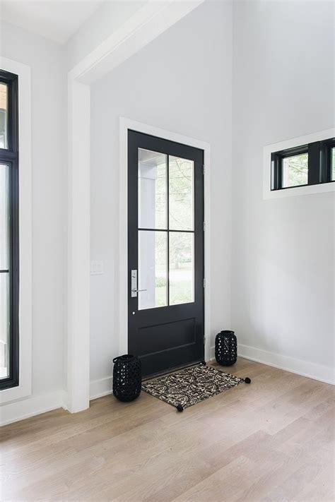 interior black door paint color sherwin williams iron ore