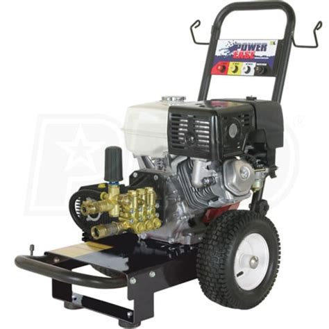 be professional 3000 psi gas cold water pressure washer
