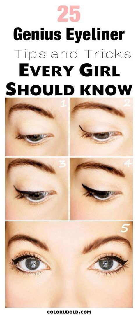 tutorial makeup untuk beginner 25 best ideas about eyeliner for beginners on pinterest