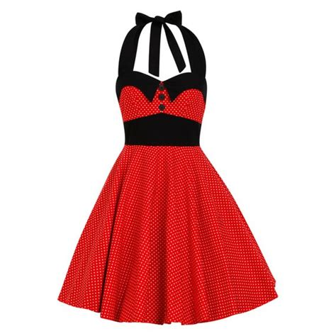 Dress Micky polka dot dress rockabilly dress mickey mouse costume