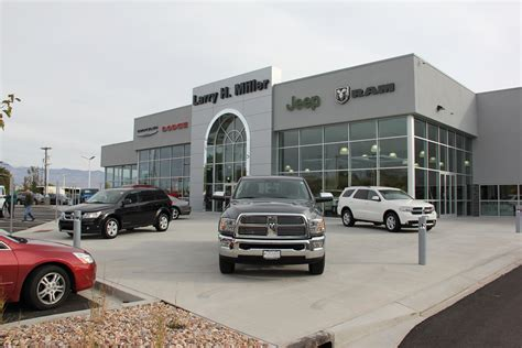 Chrysler Dodge Jeep Ram Dealership Larry H Miller Chrysler Jeep Dodge Ram Riverdale Opens