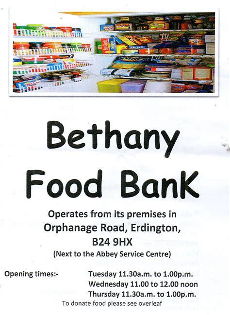 Bethany Food Pantry by News For Goosemoor Erdington Birmingham Uk