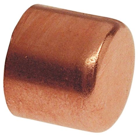 copper tube cap   home depot