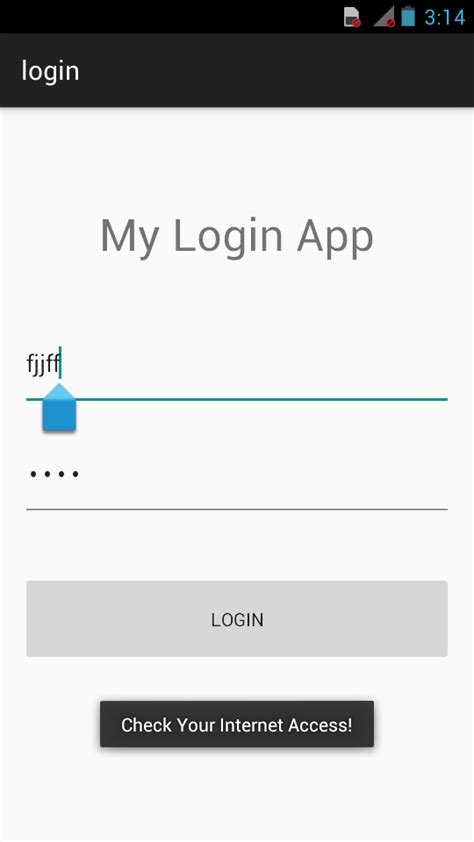 login app for android connect android to sql server login app in android