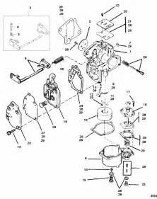 mariner 6 hp carburetor assembly parts