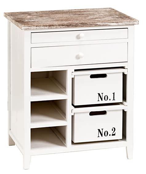 schrank cabinett mit schubladen in wei 223 shabby - Schubladen In Schrank