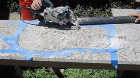 How To Cut Granite Countertops Yourself by Tips To Install Granite Countertops Armchair Builder