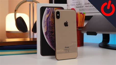 gold apple iphone xs max unboxing
