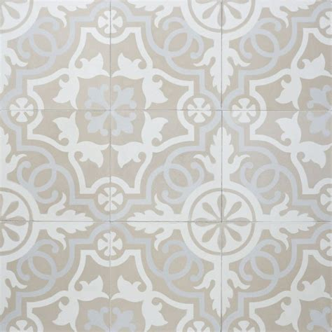 cement tile sabine hill cement tile neutral at the beach with kris