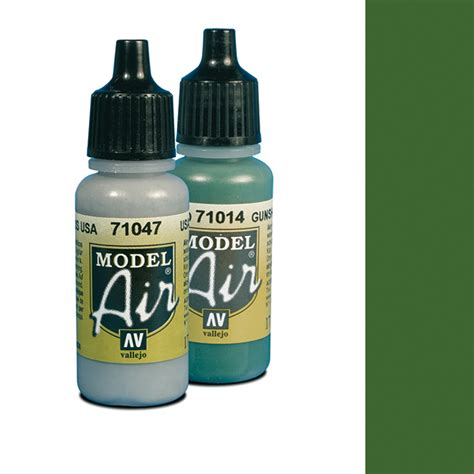 Vallejo Green Air 72728 vallejo model air 6 light green chromate was camouflage light green snm stuff