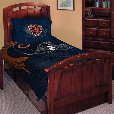 chicago bears nfl twin comforter set 63 quot x 86 quot