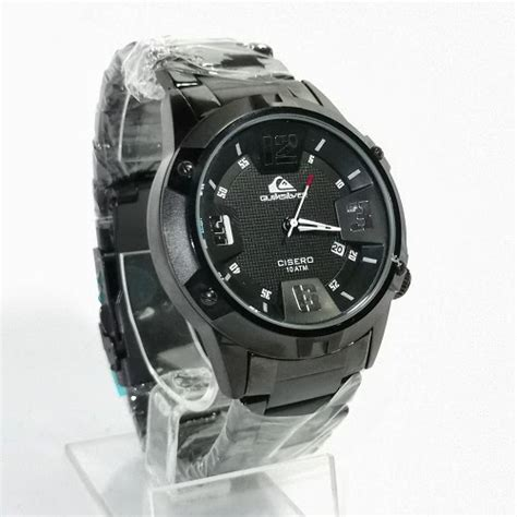 Grosir Jam Tangan Quicksilver Cisero Rantai Silver Plat Hitam Qs0 toko jam tangan di jogja jam tangan jogja menjual berbagai merk dan kualitas kw maupun original