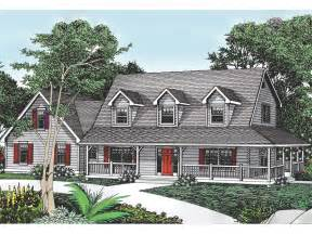 Cape Cod Cottage Plans Cottage Hill Cape Cod Style Home Enticing Wrap Around Porch From Houseplansandmore