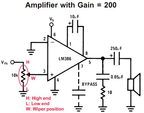 transistor lifier with volume lm386 based stereo audio lifier with digital volume embedded lab