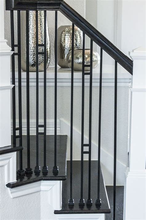 1000 ideas about iron balusters on iron stair