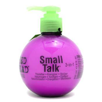 Tigi Bedhead Small Talk Thickener by Small Talk De Tigi Cabellos Y Hierbas