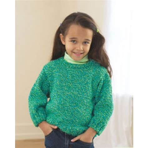 patterns knitted childrens sweaters free child s easy pullover knit pattern