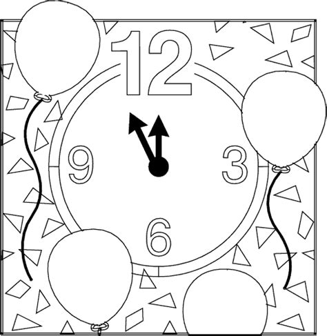 free printable coloring pages new years new year wallpapers new year coloring pages happy new