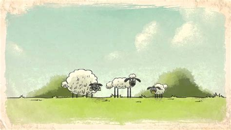 printable shaun  sheep baby shower invitation