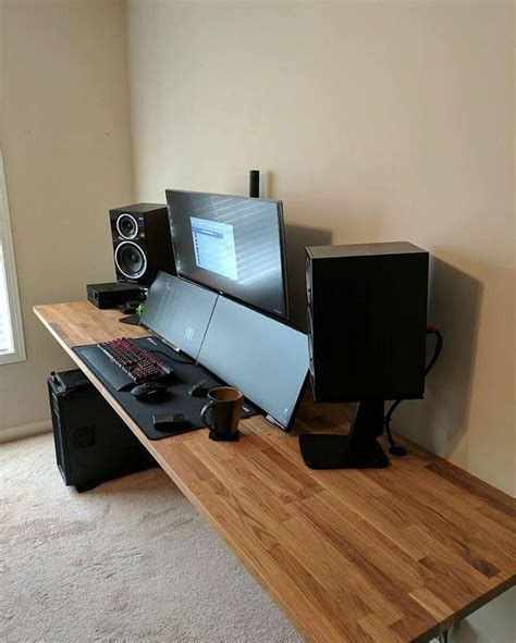 17 best ideas about gaming station computer desk on