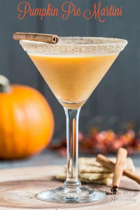 martini pumpkin pumpkin pie martini