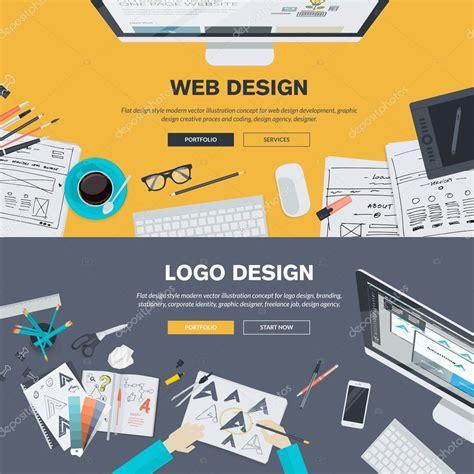 html design concepts flat design illustration concepts for web design
