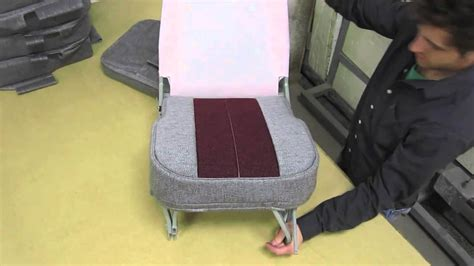 aircraft seat upholstery zero down time seats aircraft seat upholstery youtube