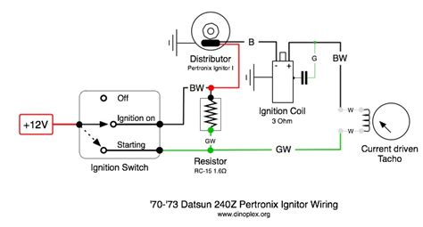 pertronix electronic ignition wiring diagram